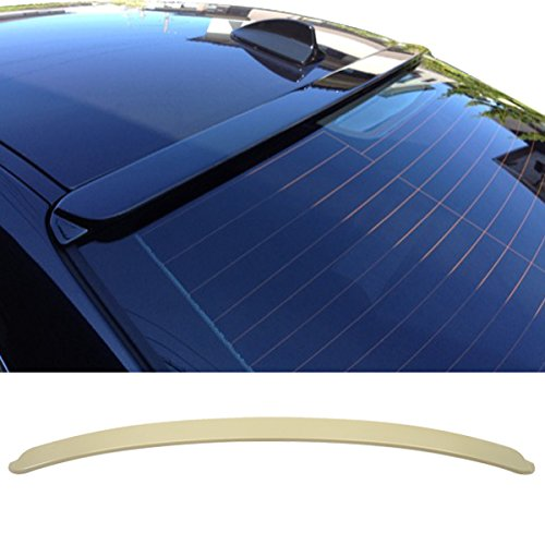 4dr Roof Wing (99-05 BMW 3 Series E46 4Dr Sedan ABS UnPainted ACStyle Rear Window Roof Spoiler)