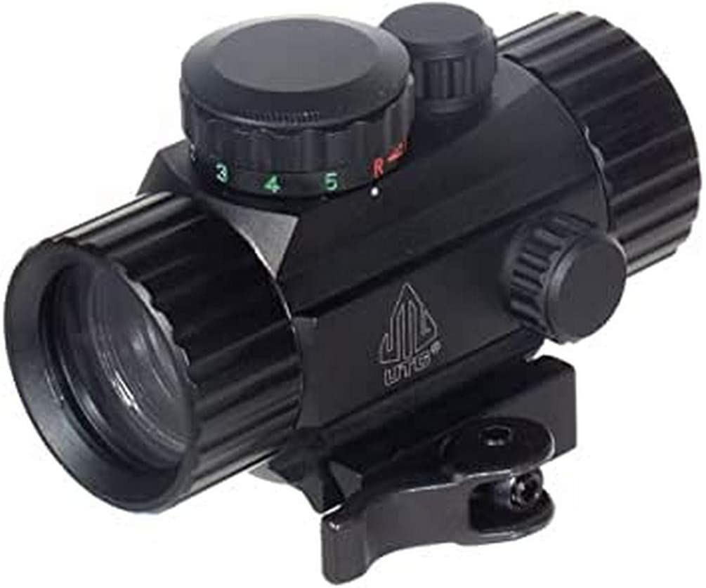 "UTG 3.8"" ITA Red/Green Circle Dot Sight w/Integral QD Mount : Airsoft Gun Scope Mounts : Sports & Outdoors"
