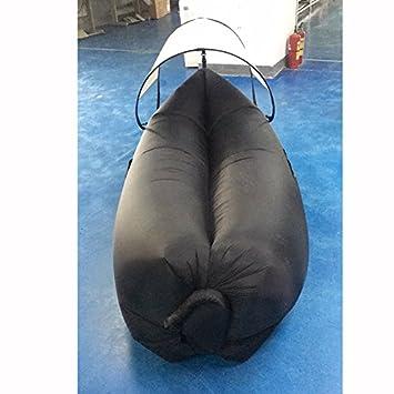Parasol hinchable sacos de dormir Lazy sofá al aire libre ocio ...
