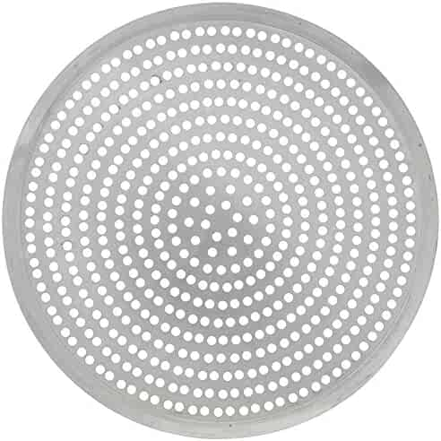 American Metalcraft Aluminum Basic Perforated Tapered Pizza Pan - 18