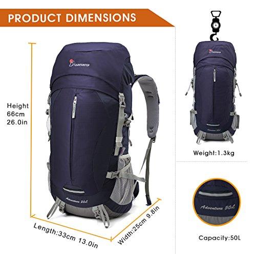 alpinisme Sac À Mountaintop vayage 50l Dos violet Randonnée 1 trekking 60l De camping z5pqqOSfWn