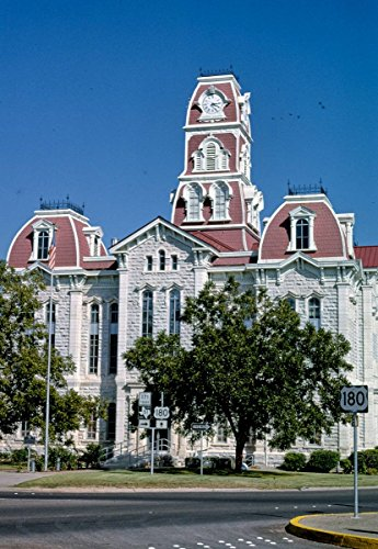 - Roadside America Photo Collection   1993 Parker County Courthouse, Weatherford, Texas   Photographer: John Margolies   Historic Photographic Print 24in x 36in