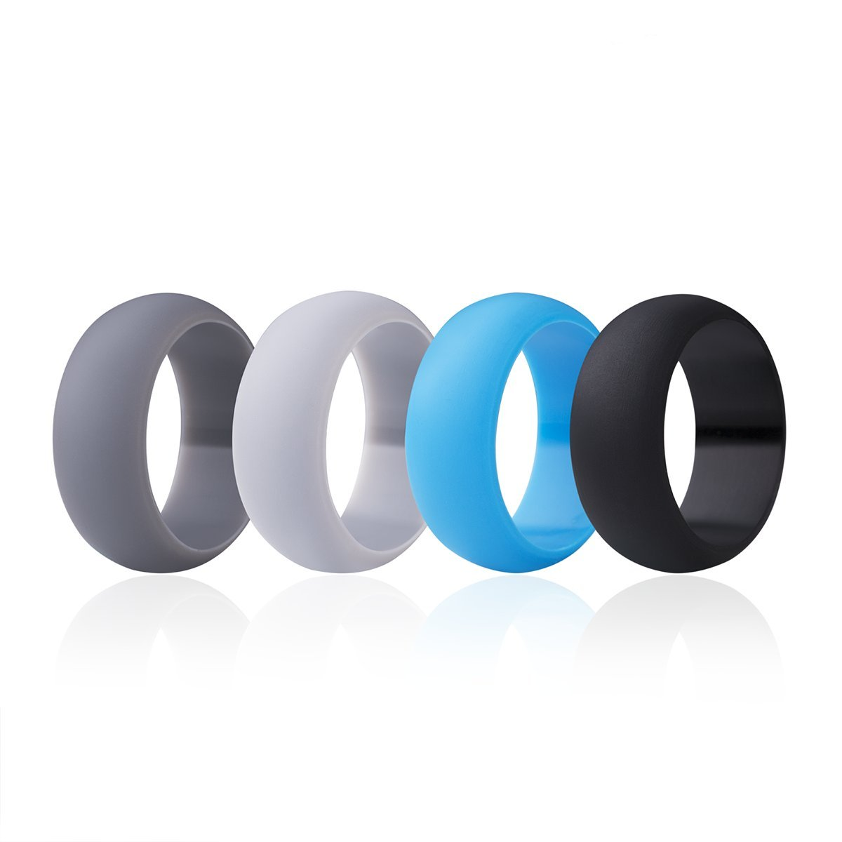 Rubber Band Wedding Rings >> Amazon Com Kaitsy Silicone Wedding Ring For Men Affordable