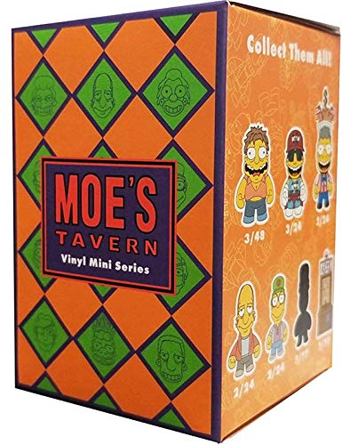 Kidrobot The Simpsons Moe's Tavern Mini Series Blindbox Figures Standard from Kidrobot