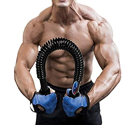 Portzon Python Power Twister,Spring steel Power Twister,Arm  Muscle,Chest,Shoulder Spring Exercise Fitness,Extreme Strength Suitable for  Professional