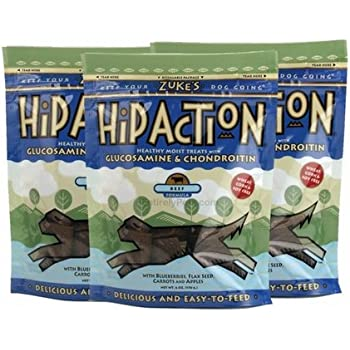 Amazon.com : 3 Packs Zuke's Hip Action with added