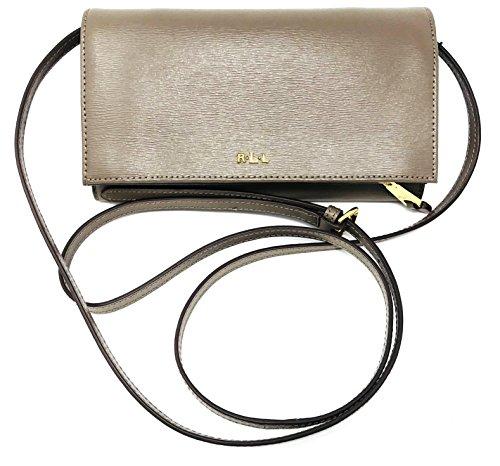Lauren Ralph Lauren Newbury Kaelyn Leather Crossbody Bag (Lauren Ralph Lauren Tate Patent Leather Crossbody)