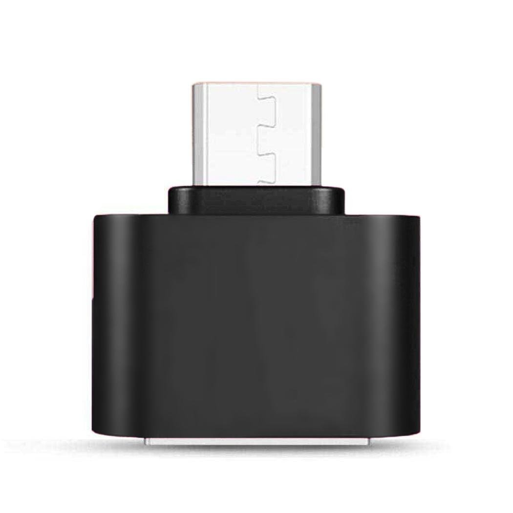 Tiowea USB 2.0 Micro USB Male to USB Female Host OTG Adapter for Adroid Charging Stations