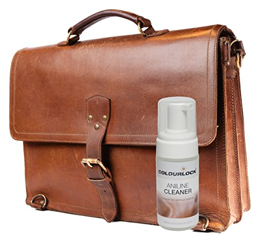 COLOURLOCK Aniline Leather Cleaning and Care Kit to protect and waterproof aniline, waxed, oily or pull up leathers on furniture suite, sofas, settee, shoes, jackets, bags and garments by Colourlock (Image #3)