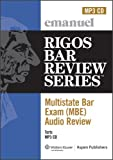 MBE Audio : Torts, Rigos, James J., 0735583560