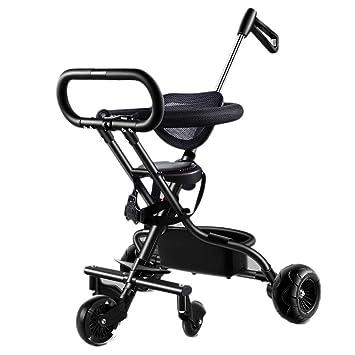 Amazon.com: Carro infantil de cinco ruedas, muñeca de bebé ...
