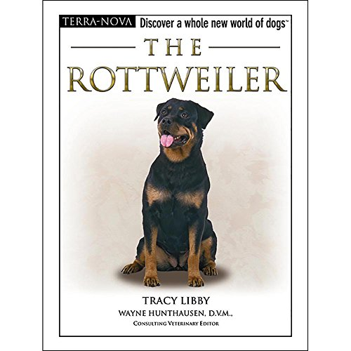 TFH Terra Nova The Rottweiler Book by Nylabone