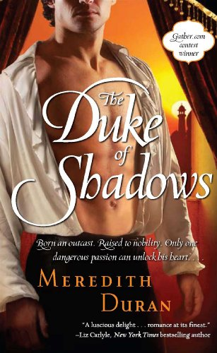 book cover of The Duke of Shadows