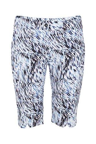 Lija Women's Straight Printed Shorts, Swirl Print, Size 8 by Lija
