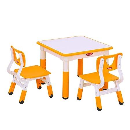 1 Mesa Y 2 Sillas] Pueden Levantar Mesas Y Sillas para Niños ...