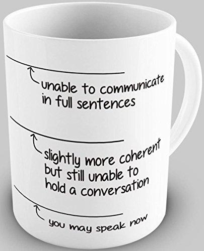 Funny You May Speak Now 11OZ Coffee Mug Novelty