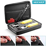 "Neewer® 12.2x7.87x3.15""/31x20x8cm EVA Shockproof Protective Carrying Case for Gopro Hero 1/2/3/3+/4/4Session,SJ4000/5000/6000/7000, Xiaomi Yi Action Cameras and Accessories - Black"