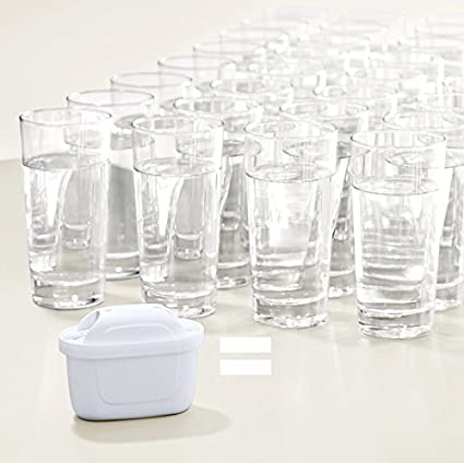 Amazon Com Brita Style 2 4l Plastic Water Filter Jug Plus 3