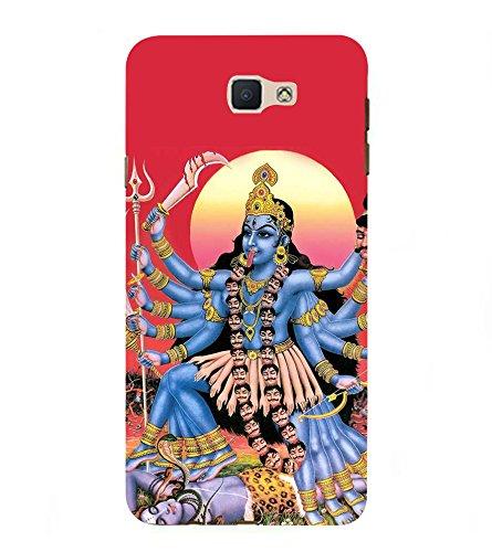 Fiobs Designer Back Case Cover for Samsung Galaxy J7 Prime  2016   Kali MATA Durga Maa Anger