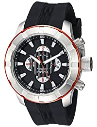 Invicta Men's 18611 S1 Rally Analog Display Japanese Quartz Watch, Black