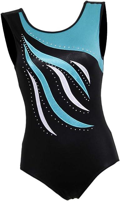 Gymnastics Leotards for Girls Tank Top Leotard Dancewear Sparkle Athletic Clothes Activewear One-piece