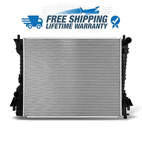 For 11-14 V6 3.7L Mustang 07-14 Mustang V8 4.0L 4.6L 5.0L 2789 Aluminum Radiator Direct Bolt On Replacement