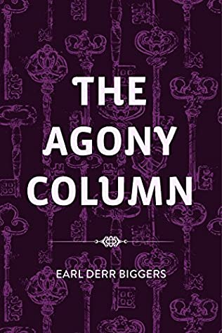 book cover of The Agony Column