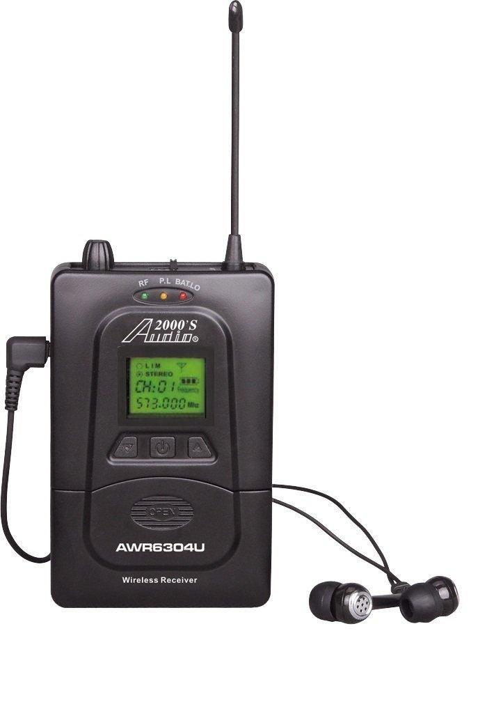Audio2000'S AWR6305U5 In-Ear Audio Monitor Receiver H & F Technologies Inc.