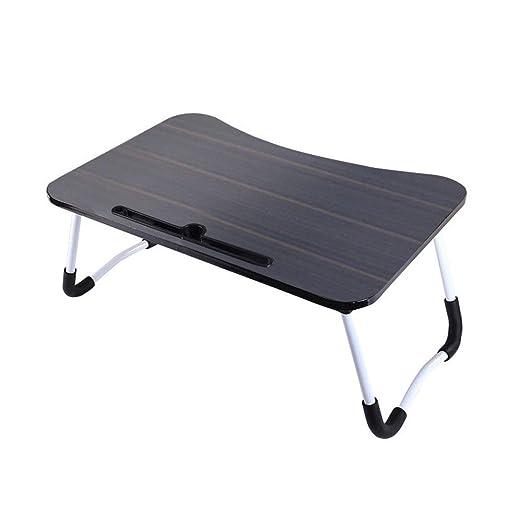 Mesa de cama portátil Tabla plegable del lado del sofá de la tabla ...