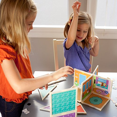 Build & Imagine: Malia's House (award-winning magnetic dollhouse you design yourself) by Build & Imagine (Image #5)