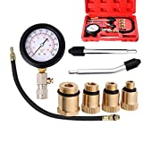 Mougerk Professional Compression Tester,Compression Tester Kit Equipped with Useful...