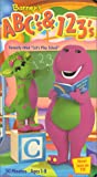"""Barney - ABCs & 123s (previously """"Lets Play School"""") [VHS]"""
