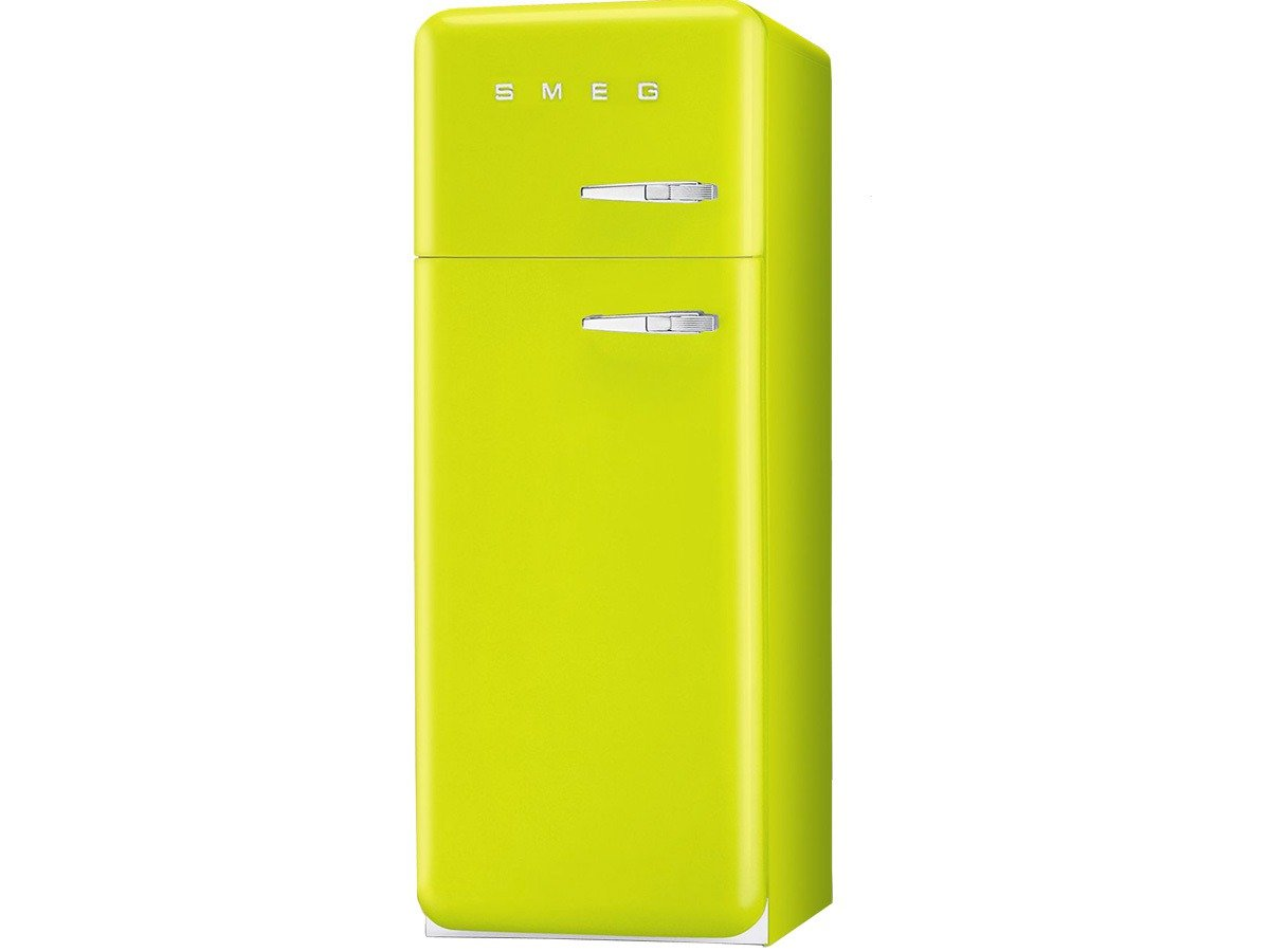 Smeg FAB30 fridge 315lt ves7 files 50\'s lime green: Amazon.co.uk ...