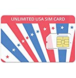 Unlimited USA SIM Card- $19.00 per Month Includes - Unlimited Domestic Calls, Unlimited Texts and 2GB of Data