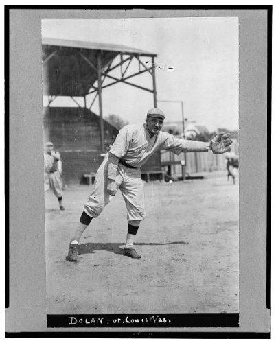 Photo  Albert James Cozy Dolan 1889 1958 St Louis Cardinals Baseball Player Uniform