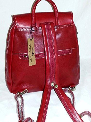 dos Rouge sac CADEAU en réf cuir 322017 Katana à SURPRISE 1z4nx1qa