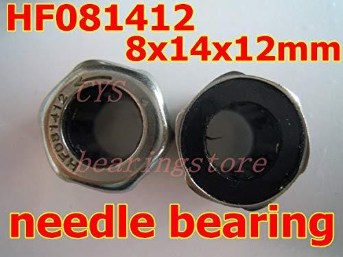 Ochoos 8X14X12mm 8mm Shaft Hexagon Head HF081412 FC-8 One Way Drawn Cup Needle Bearing/Clutch