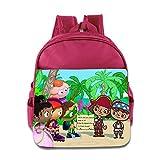 Toddler Kids Super Why School Backpack Cool Children School Bags Pink