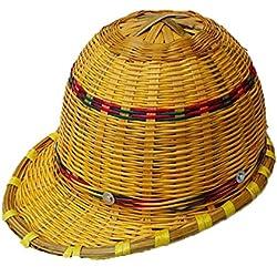 Casco De Bambú Casco De Seguridad Del Trabajador De La Construcción Verano Sudadera Respirable Ventilada Equipo De Seguridad Del Trabajo,B