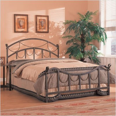 outlet store 12467 9cf73 Coaster Iron Bed, Queen-Brass
