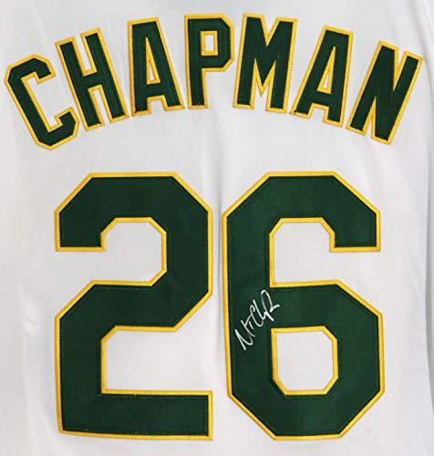 Matt Chapman Oakland Athletics A's Signed Autographed White #26 Jersey