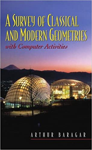 Book A Survey of Classical and Modern Geometries: With Computer Activities