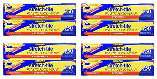 Kirkland Signature stretch-titeプラスチックラップ – 11 7 / 8 x 750フィート 5 Packages (2 Boxes) B07C58DRSR 5 Packages (2 Boxes)  5 Packages (2 Boxes)