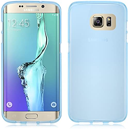 Galaxy S7 Case , IVSO Samsung Galaxy S7 - Super High Quality TPU Case -perfect compatible for Samsung Galaxy S7 phone (Clear Blue) Sales