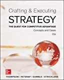 img - for Crafting & Executing Strategy: The Quest for Competitive Advantage: Concepts and Cases (Crafting & Executing Strategy: Text and Readings) book / textbook / text book