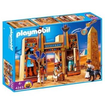 Playmobil pharaoh 39 s temple toys games - Playmobil egyptien ...