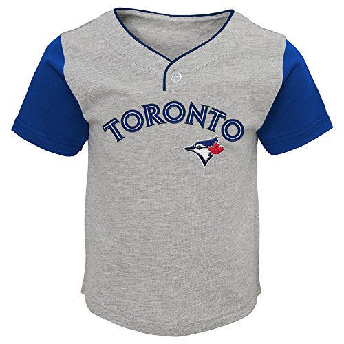 MLB  Toronto Blue Jays Toddler Boys Batting Practice Short Set-2T