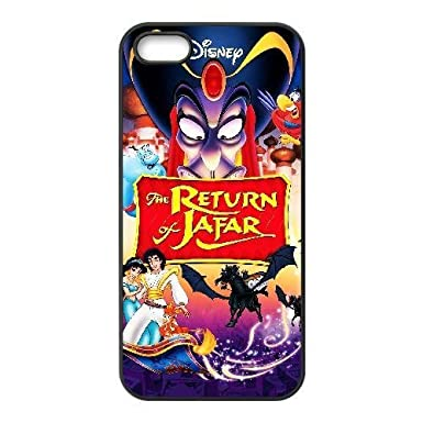 best cheap 53553 fc98a Custom for iPhone 5 5s Cell Phone Case Black Disney Villains Jafar ...