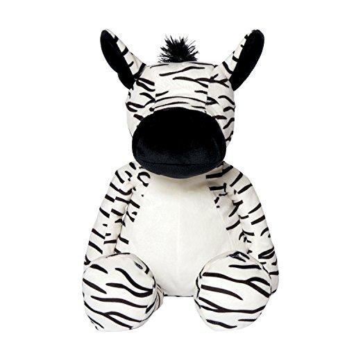 Manhattan Toy Huggables Zebra Plush