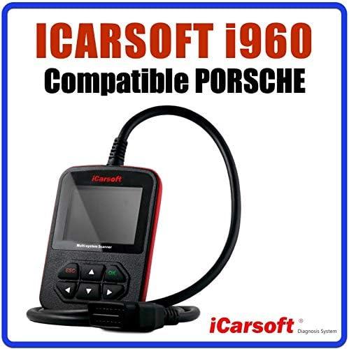 Diagnostic Tous Syst/èmes Interface de Diagnostic iCarsoft i960 Compatible avec v/éhicules Porsche